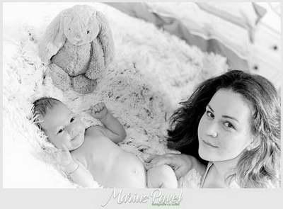 Fotografii inainte de ziua botezului bebe Brasov