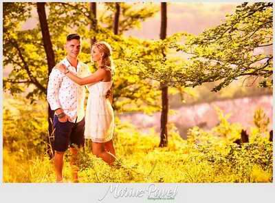 Foto cuplu ora de aur