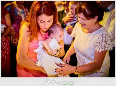 Sedinta foto in ziua botezului din Brasov