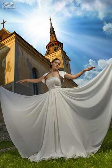 Sesiune foto trash the dress - Fotograf nunta Brasov