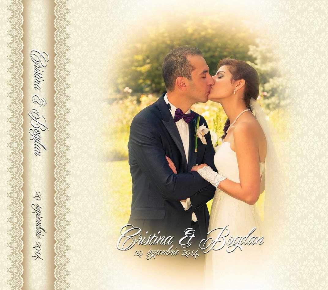 Album nunta coperta