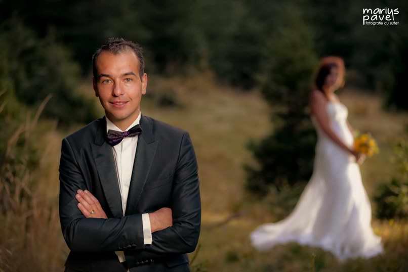 Foto nunta romantica Brasov