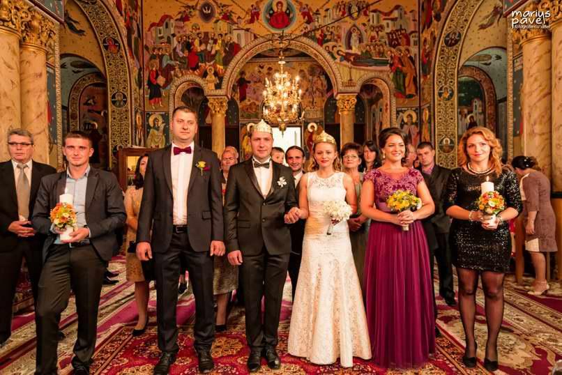 Poze cununia religioasa si petrecerea de la nunta din Brasov