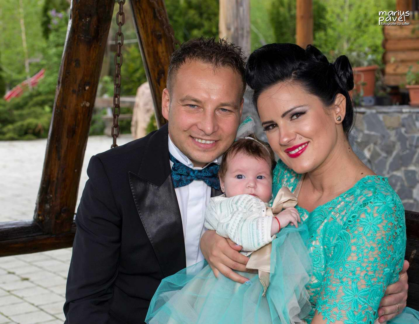 Foto bebe botez Brasov