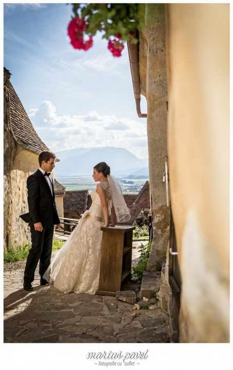 Sedinta foto la Cetatea Rasnov