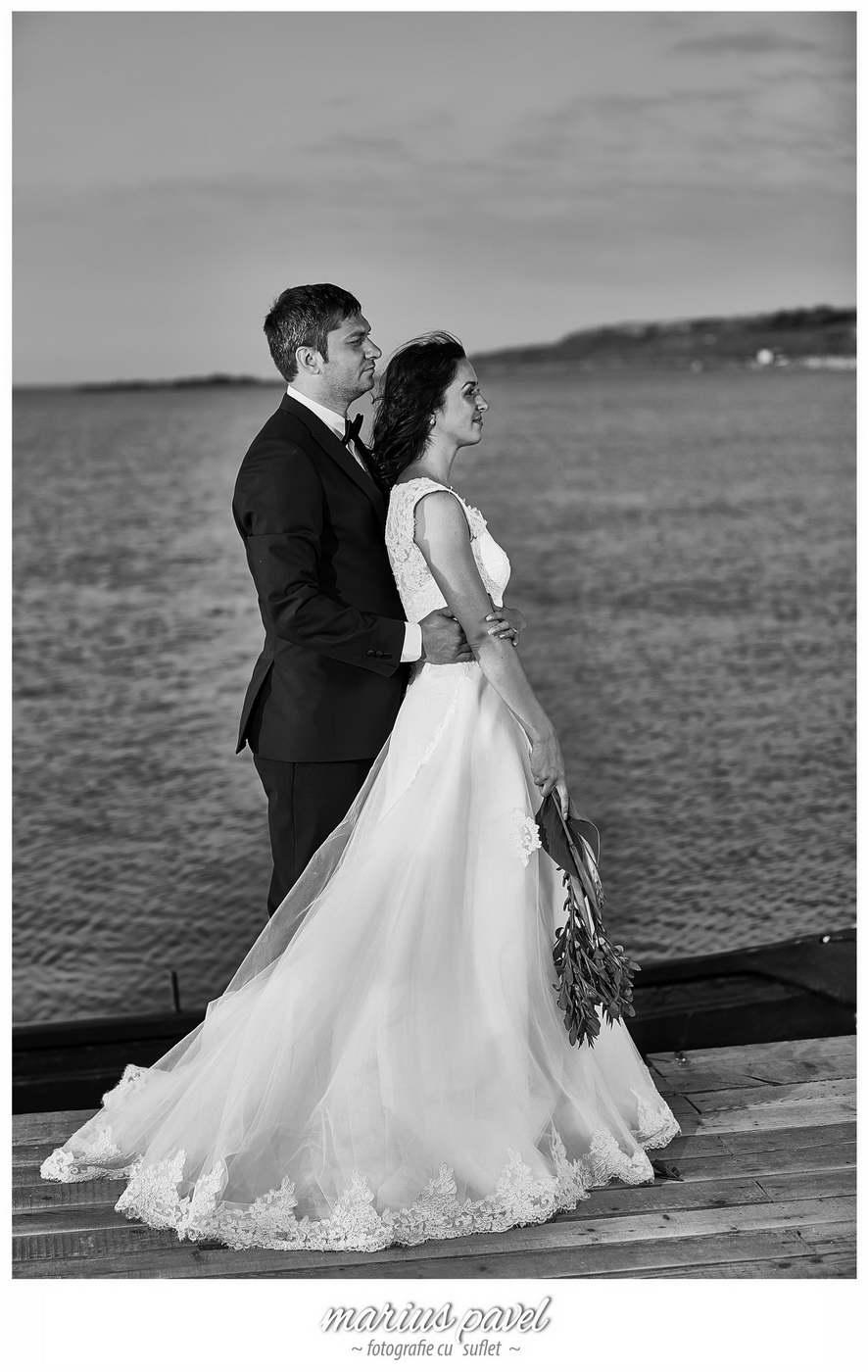 Sedinta dupa nunta la Marea Neagra cu mirii
