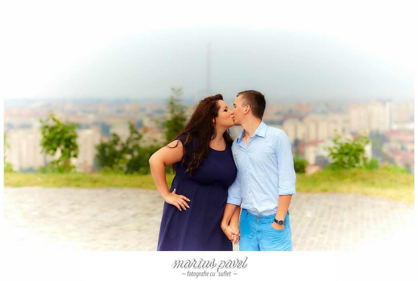 Sedinta de fotografie inainte de nunta la Cetatea Brasov