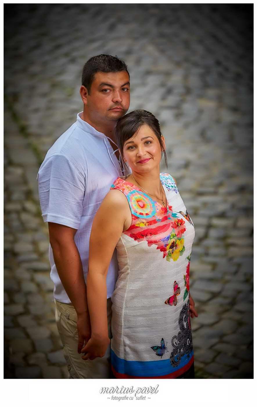 Sedinta foto inainte de nunta la Cetatea Rasnovului
