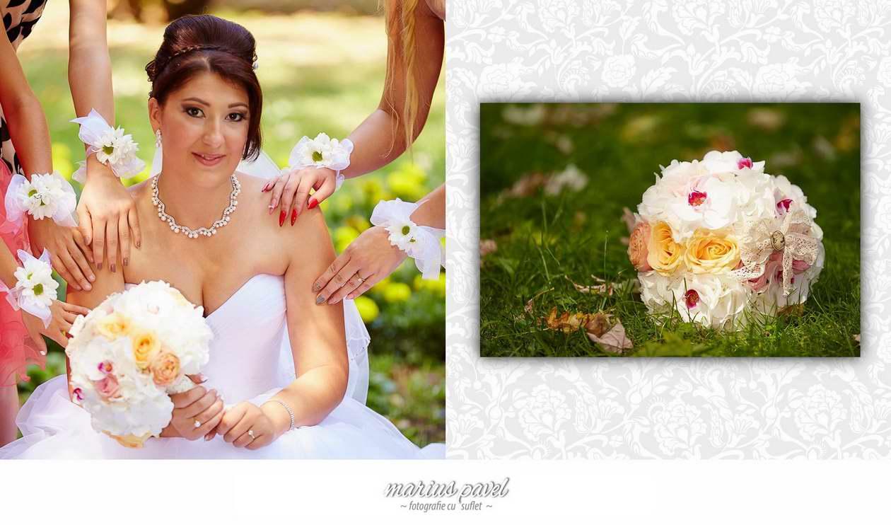 Colaje cu fotografiile nuntii