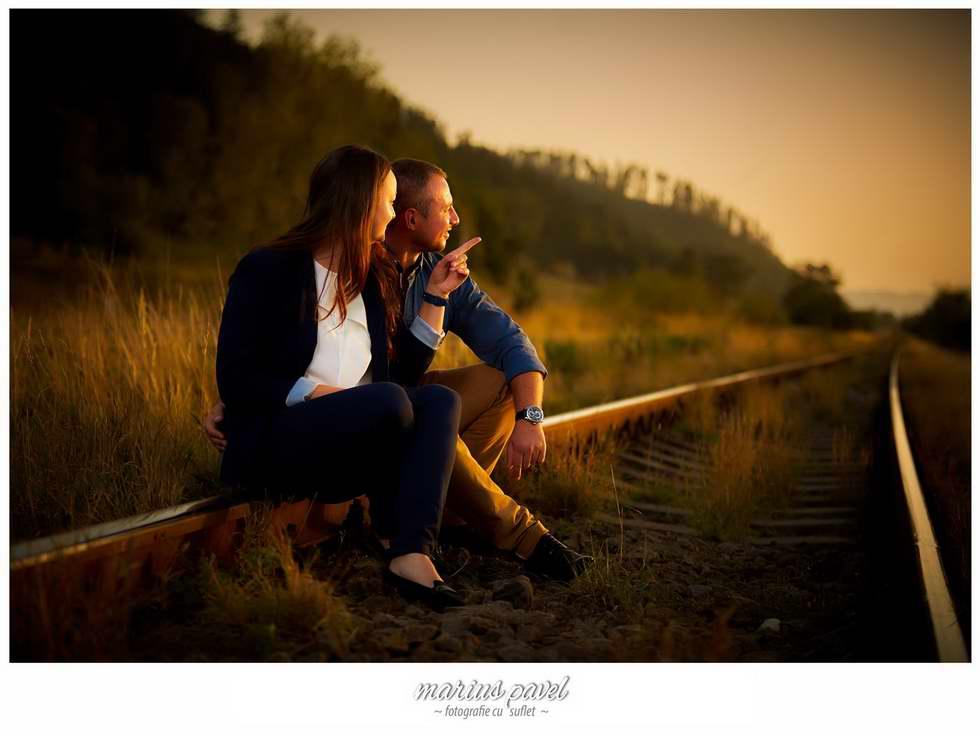 Sedinta de fotografie la apusul soarelui