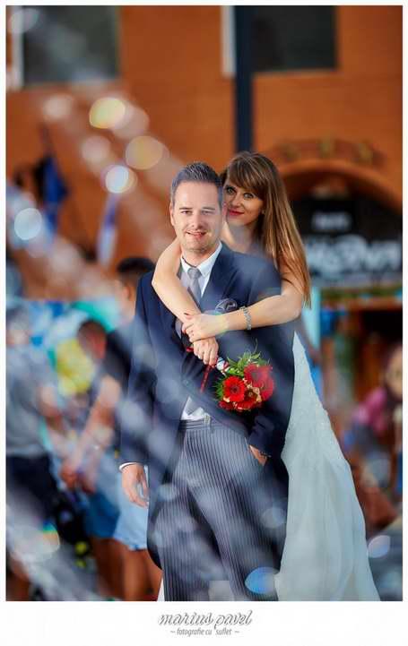 Sedinta foto de nunta in Brasovul vechi