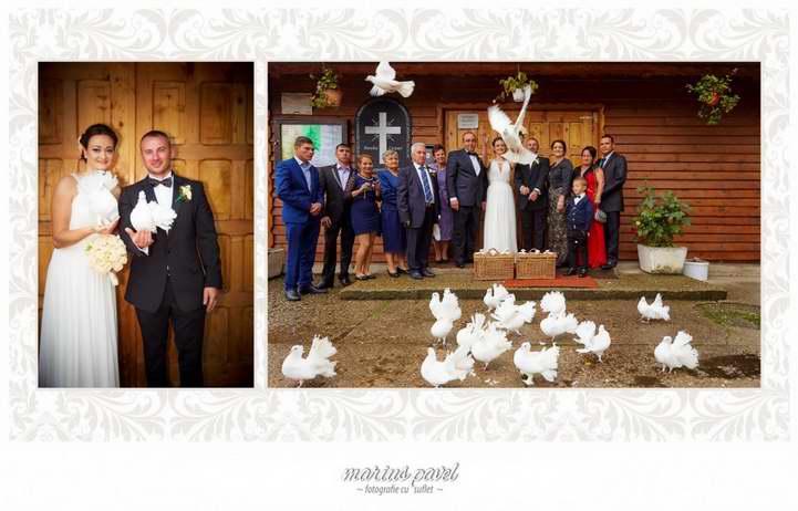 Foto nunta de la Pensiunea Floarea Soarelui
