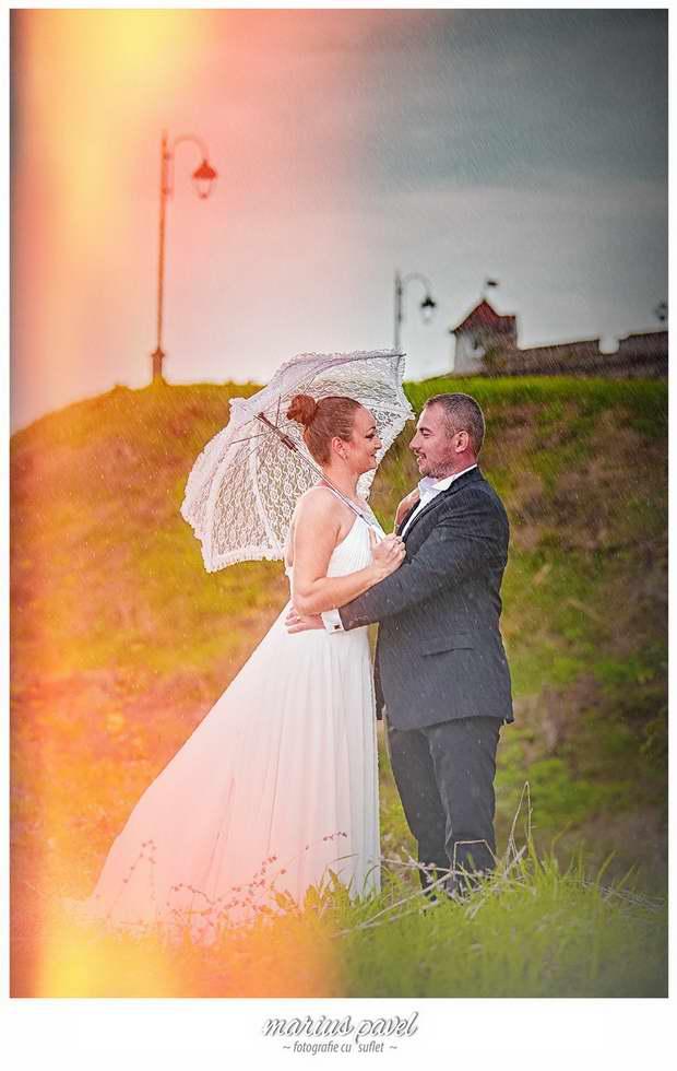 Sedinta foto dupa nunta Cetatuia Brasov