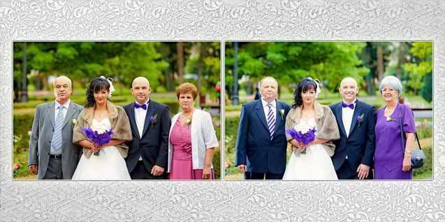 Album de nunta personalizat