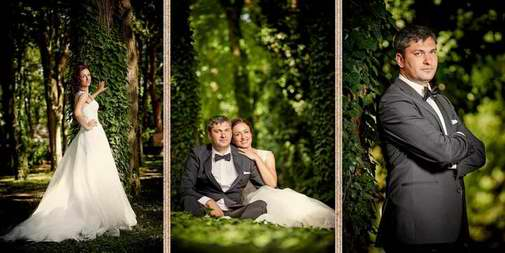 Album de nunta trash the dress pe malul marii