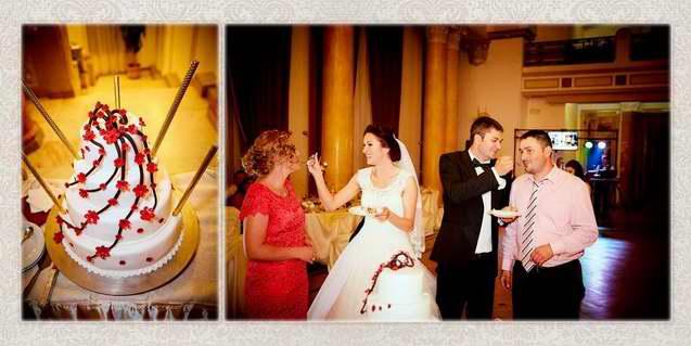 Colaje albumul nuntii Casa Armatei