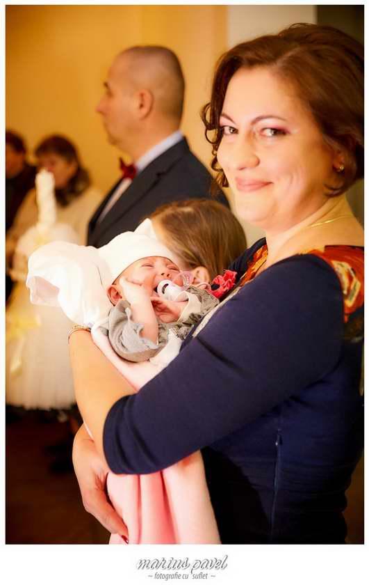 Foto botez fetita Brasov