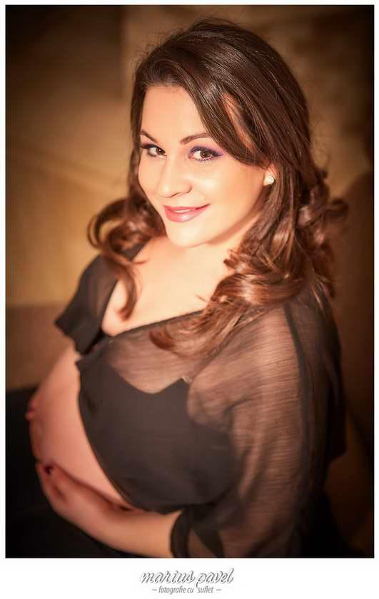 Fotografii gravida Brasov