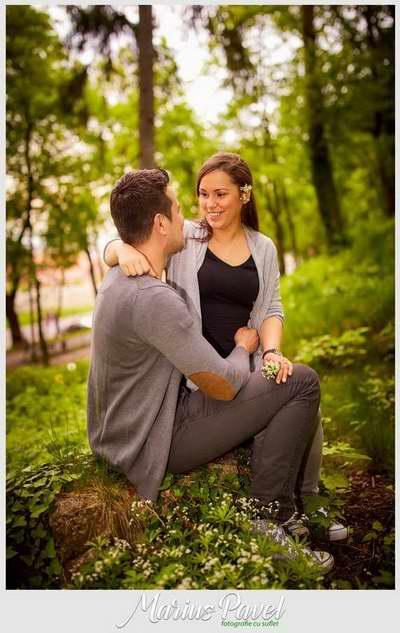 Fotografie de cuplu inainte de nunta sub Tampa