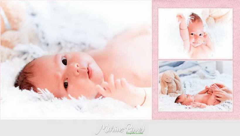 Album foto de botez personalizat